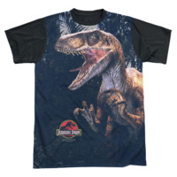 JURASSIC PARK RAPTORS Short Sleeve T-Shirt