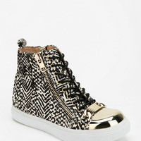 Jeffrey Campbell Adams Geo Print High-Top Sneaker