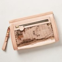 Sauvage Tile Clutch by Anthropologie Medium Pink One Size Clutches