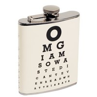 Hindsight is 20 20 Hip Flask