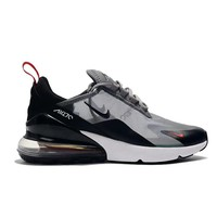 Nike Air Max 270 Black White Grey Running Shoes - Best Deal Online