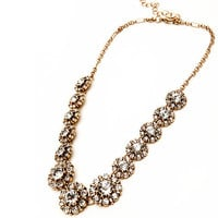 Classic Crystal Statement Necklace