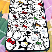 Hello Kitty for iPhone 4/4s, iPhone 5/5S/5C/6, Samsung S3/S4/S5 Unique Case *76*
