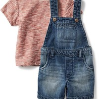 2-Piece Tee and Overalls Set for Baby | Old Navy