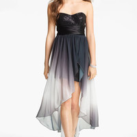 Speechless Embellished High/Low Dress (Juniors) | Nordstrom