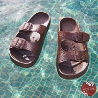 Brown Buckle™ - Pali Hawaii Sandals