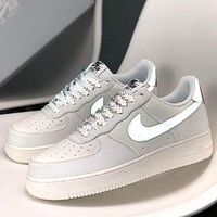 "Wearwinds Nike Air Force 1 3M ""Chameleon"" Reflective Star Air Force One Sneakers"
