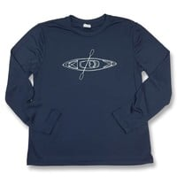 Kayak Adult Long Sleeve Performance Tee