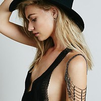 Armor x Free People Womens Tiered Shoulder Chain