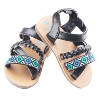 Baby Schoenen Infant Girls Braided Shoes 2017 Fashion Summer Newborn Crib Shoes Sandal