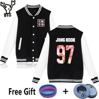 BTS young forever jackets Jungkook sweatshirts long sleeve hoodies kpop  bts Sweatshirt women plus size clothing 4XL