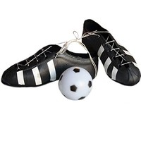 Soccer Cleats and Soccer Ball Cake Topper Soccer Shoes Sports Team Party