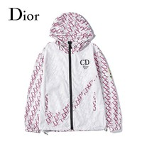 Dior 'CD' fashion new casual arm big bee printed letter windbreaker