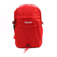 """Red """"Cool"""" Stylish Backpack Travel Bag"""
