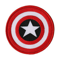 Marvel Captain America Shield Patch