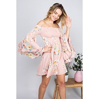 Country Nights Dress (Blush)