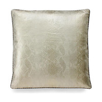 Serpent Ivory Pillow