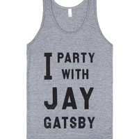 Athletic Grey Tank | Funny Great Gatsby Party Shirts