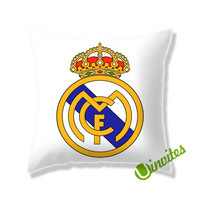 Real Madrid Logo Square Pillow Cover