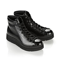 COLE HIGH TOP BOOT   BOOTS   Alexander Wang Official Site