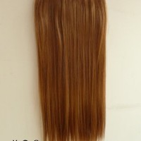 X&Y ANGEL - One Piece Straight Synthetic Thick Hair Extension Clip-on Hairpieces (#30)