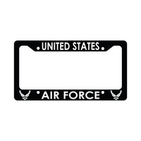 United States Air Force Us U.S. Air Force Funny Car License Plate Frame