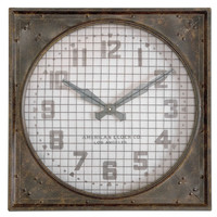 Warehouse Wall Clock