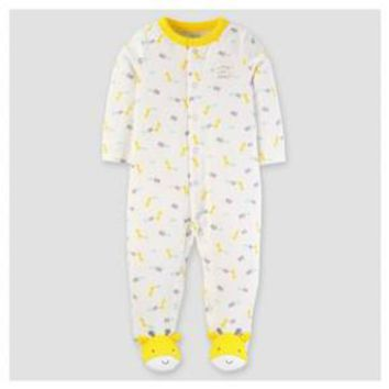 Baby Cotton Giraffe I Love My Family Sleep N' Play - Just One You™ Made by Carter's® Yellow