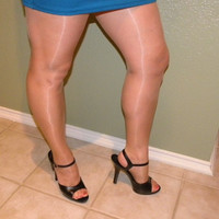 Shiny Glossy Narrow Rolled Top Oil Stocking pantyhose