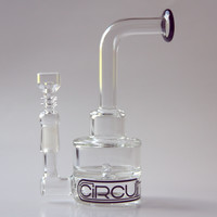 "Grav Labs 7"" Circuit Two-Layer Dab Rig - Clear"