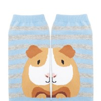 Guinea Pig Stripe Ankle Socks
