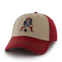 """NFL New England Patriots '47 Brand Clean Up """"Yosemite"""" Adjustable Slouch Hat / Cap"""