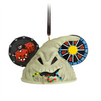 Disney Oogie Boogie Ear Hat Ornament - Tim Burton's The Nightmare Before Christmas | Disney Store