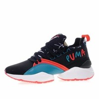 Puma Muse Maia Street Graphic Sneakers Shantell Martin Black - Best Deal Online