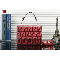 FENDI Newest Fashionable Women Shopping Bag Leather Tote Crossbody Satchel Shoulder Bag Handbag