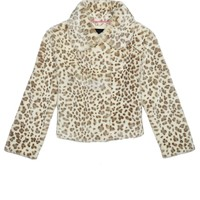 Angel Snow Leopard Fur Jacket by Juicy Couture,