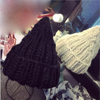 Knitted Witches Hat