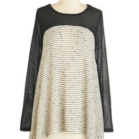 ModCloth Long Long Sleeve Tent Just the Sway I Like It Sweater