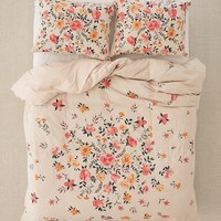 Bouquet Check Duvet Cover | Urban Outfitters