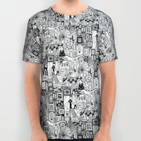 nightmares All Over Print Shirt by Sharon Turner
