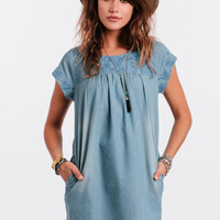 Traveled Roads Embroidered Dress