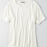 Don't Ask Why Slouchy T-Shirt, Chalk
