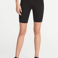 """Mid-Rise Compression Bermuda Shorts for Women (8"""")