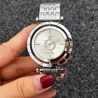 Pandora Trending Woman Men Stylish Quartz Movement Wristwatch Watch Silvery