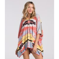 PIONEERING FOR DAYS PONCHO SWEATER