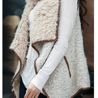 Stay Cozy Shearling Vest