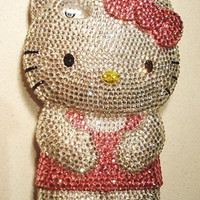 Bling hello kitty iphone 4/4s case