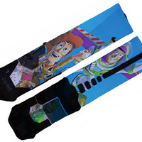 Toy Story Custom Nike Elite Socks