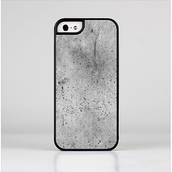 The Concrete Grunge Texture Skin-Sert Case for the Apple iPhone 5/5s