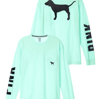 Campus Long Sleeve Tee - PINK - Victoria's Secret